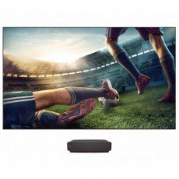 "Hisense 203cm (80"") Laser TV- HE80LS + FREE Soundbar with Wireless sub(71418) offer at R 39999,99"