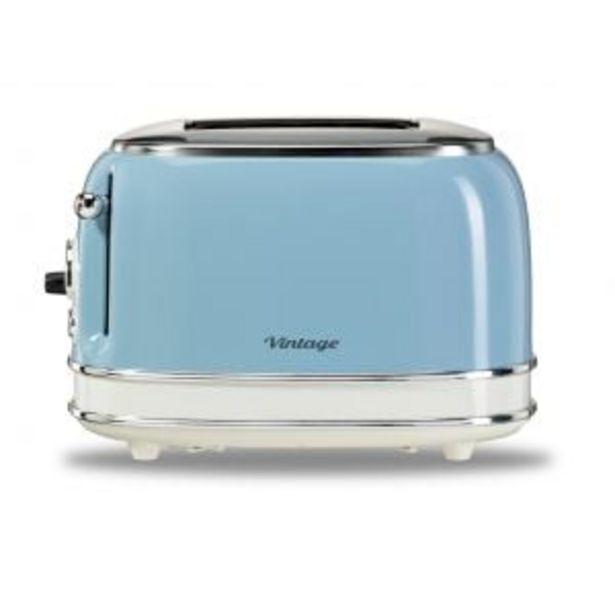 Kenwood Vintage Blue 2-Slice Toaster - TCM35.000BL offers at R 999,99