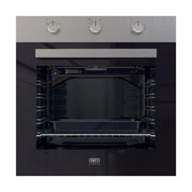 Defy 60cm Slimline Inox Eye-Level Oven - DBO484 offers at R 3199,99