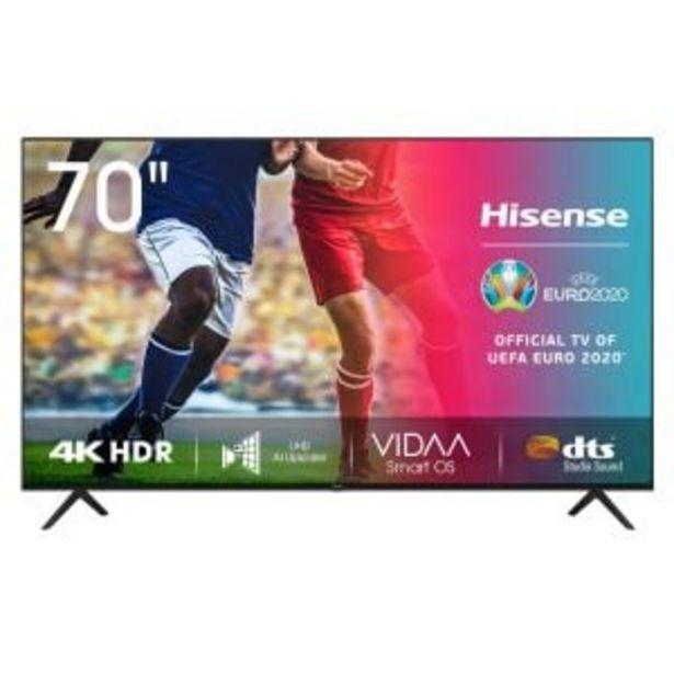 "Hisense 178cm (70"") 4K UHD Smart TV - 70A7100 offers at R 13999,99"