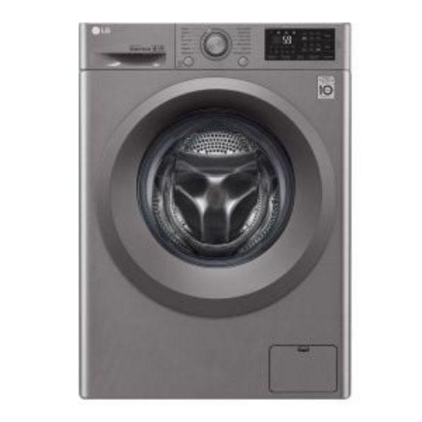 LG 9kg Silver Front Loader Washing Machine - F4J5VYP7SP offer at R 9264,99