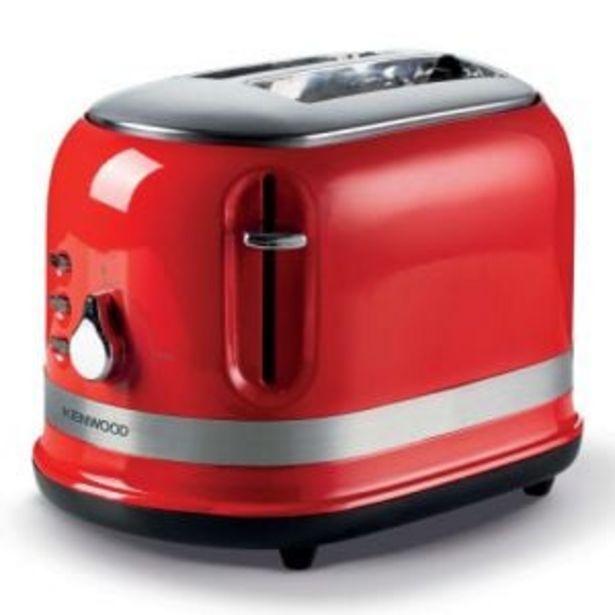 Kenwood Moderna Red 2-Slice Toaster - TCM55.000RD offers at R 1199,99