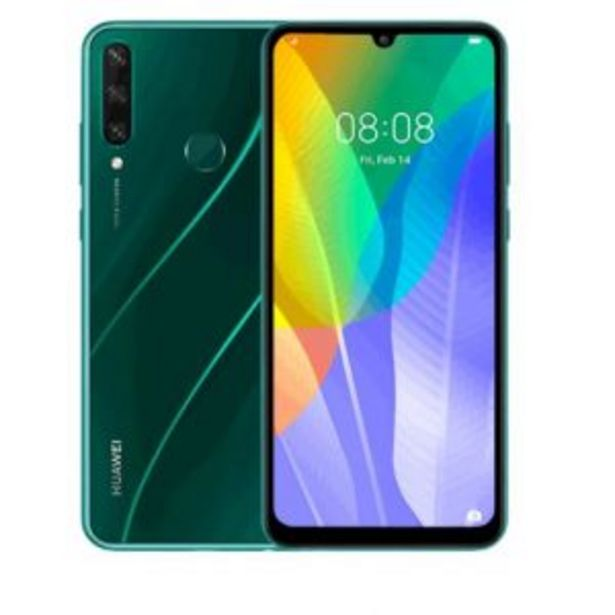 Huawei Y6P Cellphone - Emerald Green offer at R 3299,99