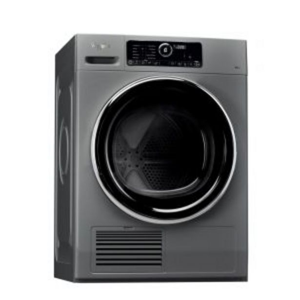 Whirlpool 9kg Silver Dryer - DSCX90122 offers at R 11899,99