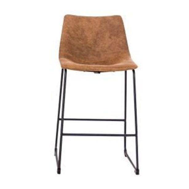 Scoop Cowboy Brown Kitchen Stool - HY-7163-2B offers at R 1199,99