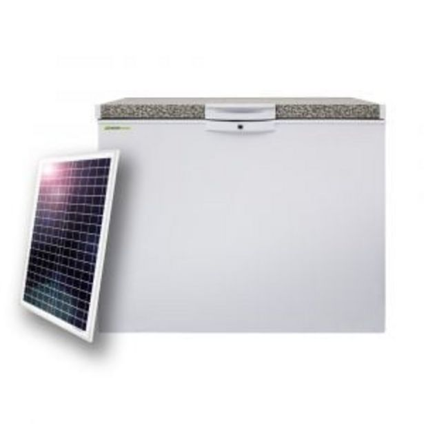 Defy Solar Hybrid Chest Freezer - DMF475S + SOL006 offer at R 5899,99