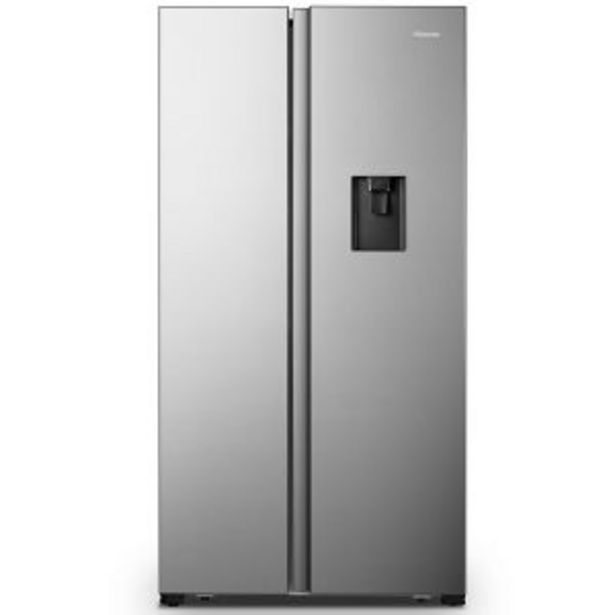 Hisense 514Lt Side-by-Side Fridge/Freezer with Water Dispenser - H670SIA-WD offers at R 13099,99