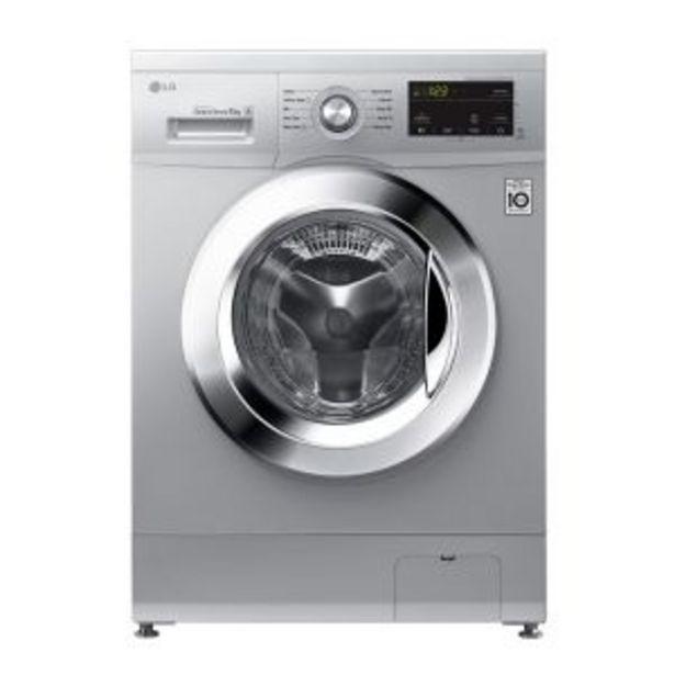 LG 8kg Luxury Silver Front Loader Washing Machine - FH2J3TDNP5P offer at R 8329,99