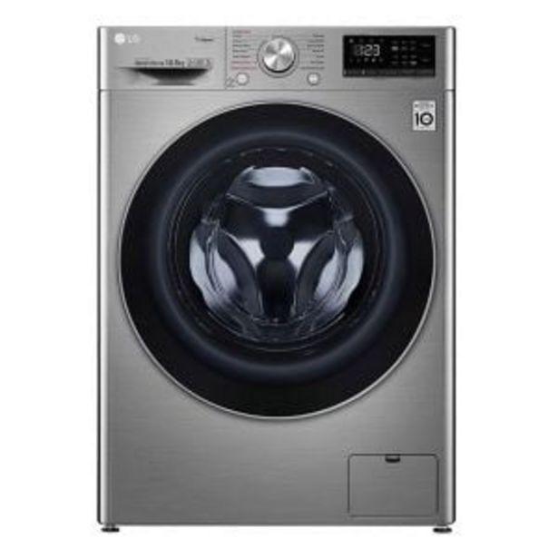 LG 10.5kg Silver Washing Machine - F4V5RYP2T offer at R 11644,99