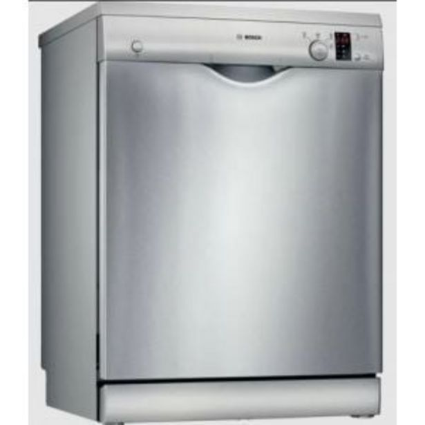 Bosch 12PL Stainless Steel Dishwasher - SMS24AI01Z offers at R 4999,99
