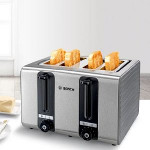 Bosch - Toaster Graphite - TAT7S45 offers at R 1699,99
