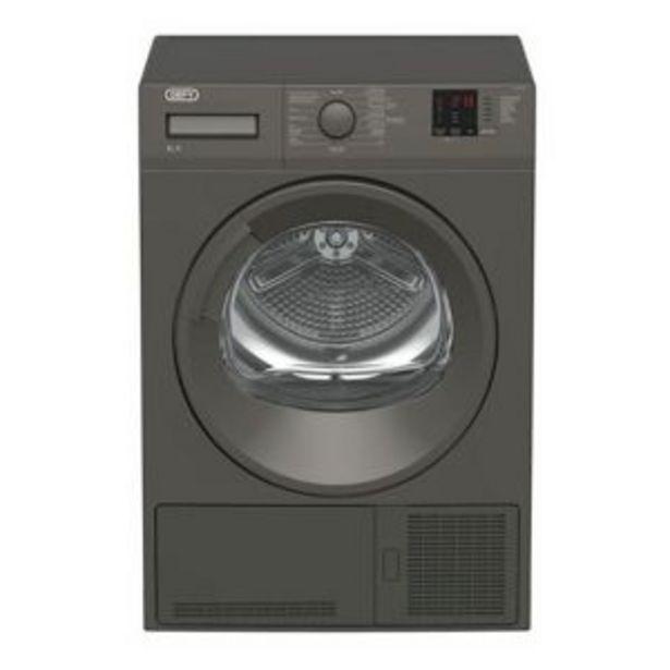 Defy 8kg Grey Condenser Dryer - DTD320 offers at R 7699,99
