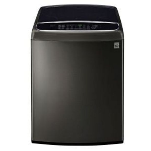 LG 21kg Black Stainless Steel Top Loader - T2132WFFSTD offers at R 14999,99