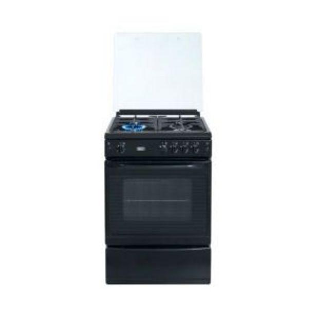 Defy 60cm Black Series 4 Burner Full Gas Stove - DGS170 offer at R 6199,99