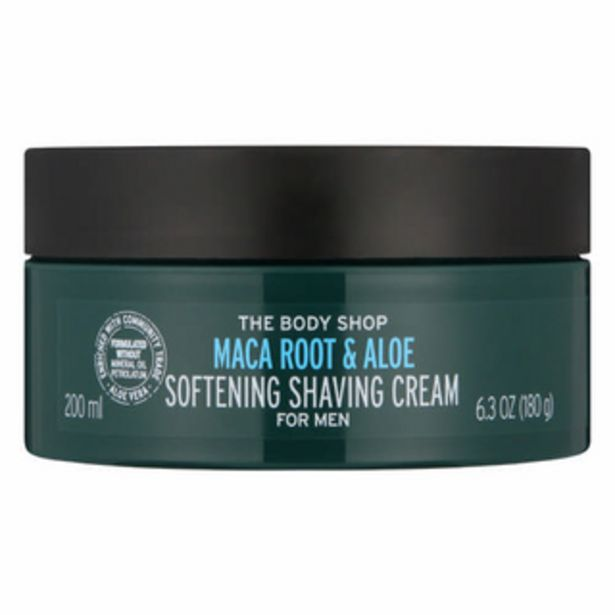 Maca Root & Aloe Shave Cream 200ml offers at R 205