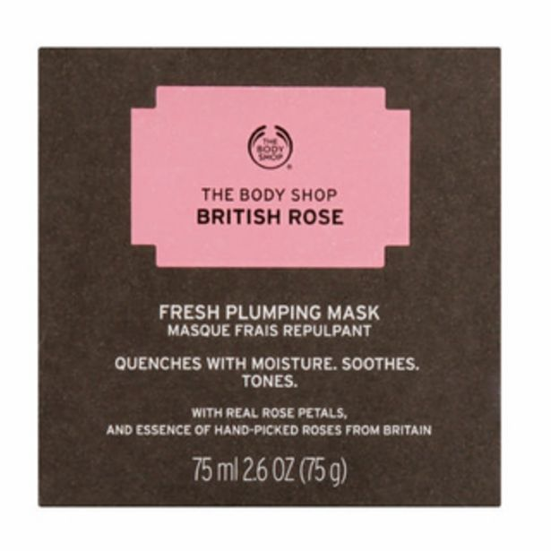 British Rose Fresh Plumping Mask 75ml offers at R 390