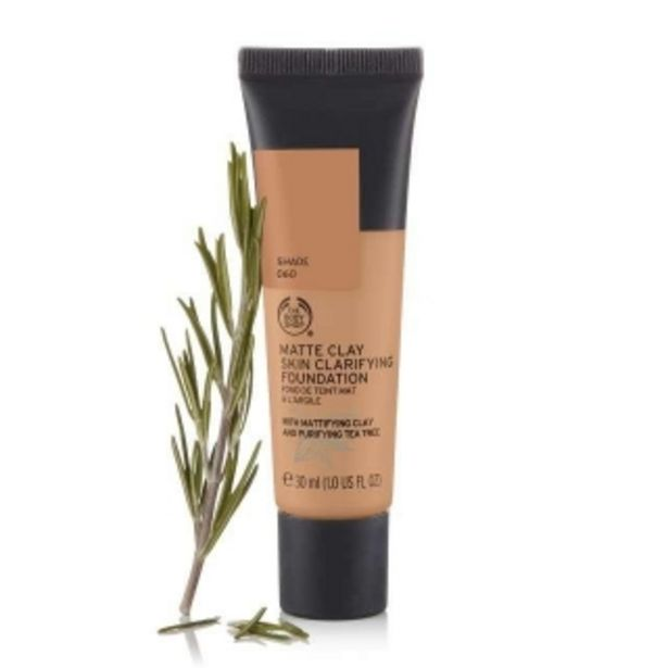 Matte Clay Skin Clarifying Foundation 060 offer at R 190