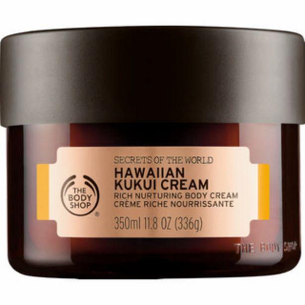 Spa of The World Body Cream Hawaiian Kukui 350ml offers at R 470