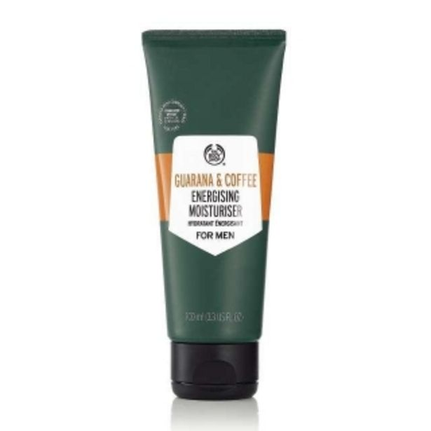 Guarana and Coffee Energising Moisturiser For Men offer at R 240