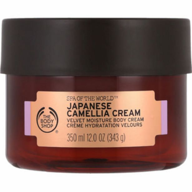Spa of The World Body Cream Japanese Camelia 350ml offers at R 470