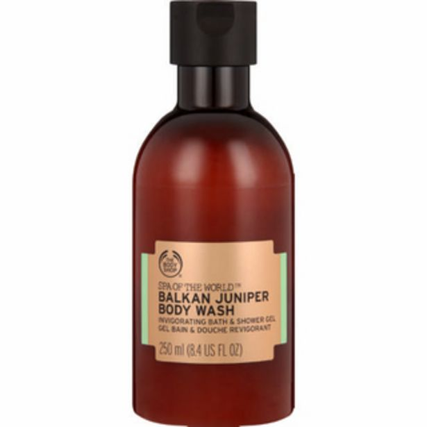 Spa Of The World Balkan Juniper Body Wash 250ml offer at