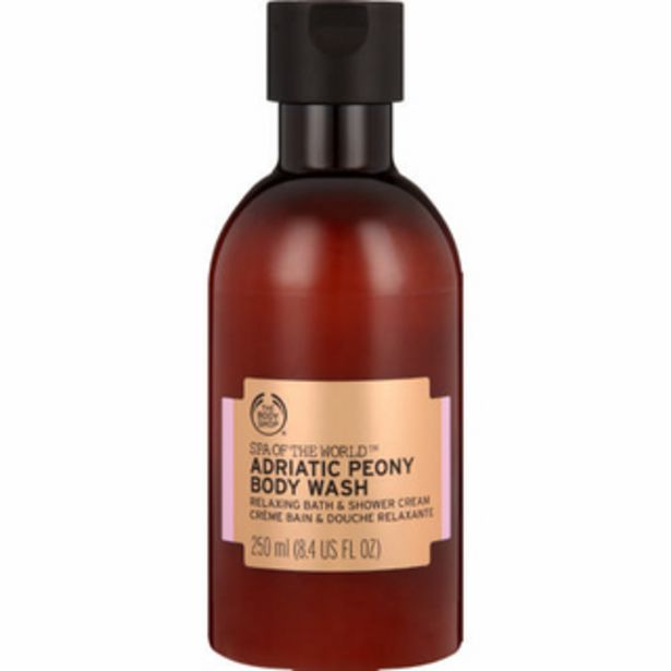 Spa Of The World Adriatic Peony Body Wash 250ml offer at