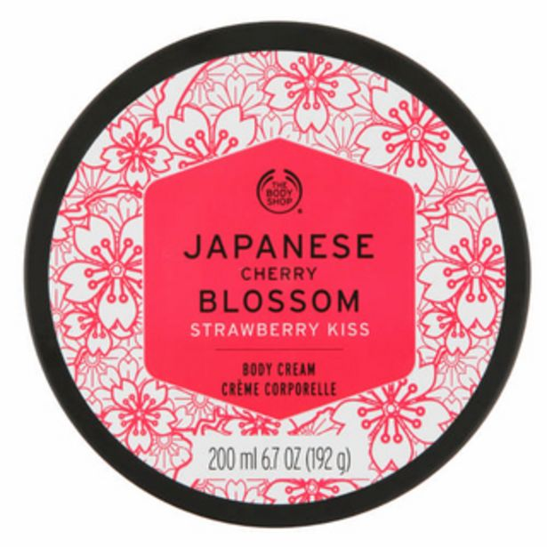 Voyage Body Cream Japanese Cherry Blossom Strawberry Kiss 200ml offers at R 200