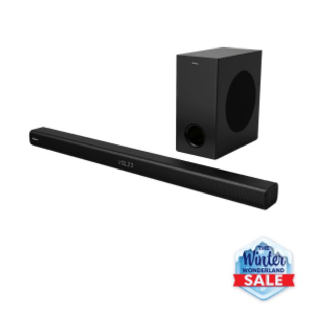 Hisense 2.1Ch Soundbar with Wireless Subwoofer offers at R 159