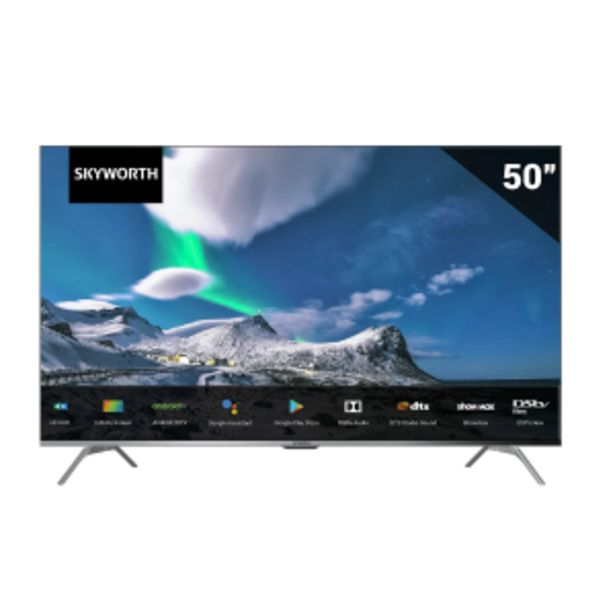 """Skyworth 50"""" UHD Android 10 TV offer at R 389"""
