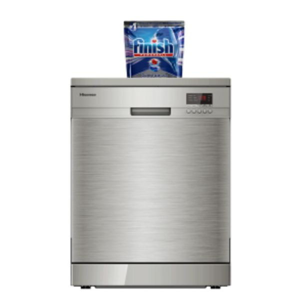 Hisense 13 Place Stainless Steel Door Dishwasher offers at R 249