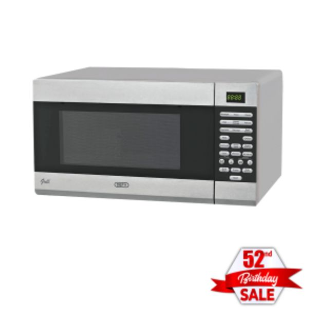 Defy 34L Silver Grill Microwave Oven offer at R 159