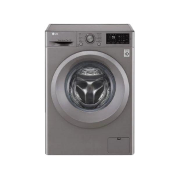 LG 7kg Silver Front Loader Washing Machine offer at R 459