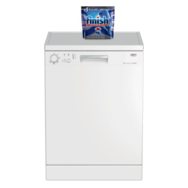 Defy 13 Place White Dishwasher offers at R 289