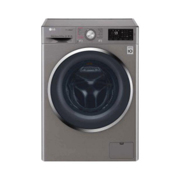 LG 8kg Stone Silver Front Loader Washer/ Dryer offer at R 539