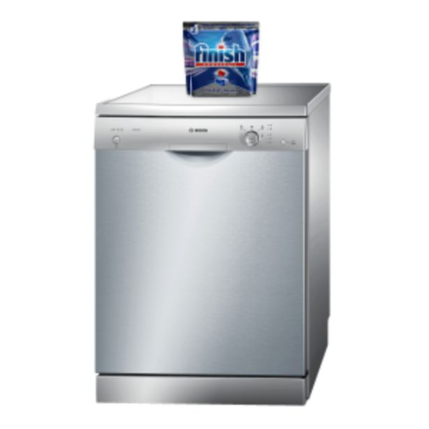 Bosch 12 Place Silver Inox Dishwasher offer at R 249