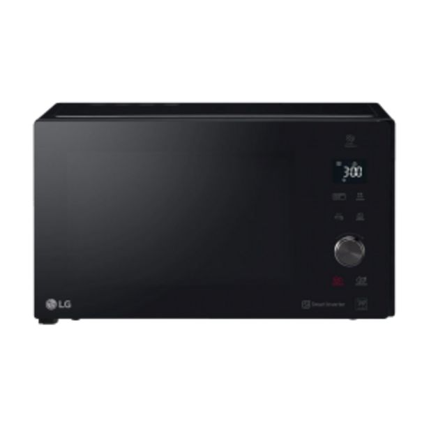 LG 42L Black Smog Grill Microwave offer at R 179