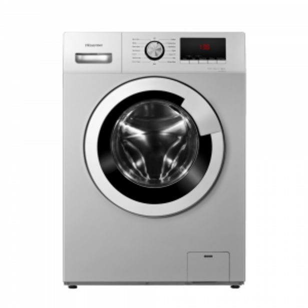 Hisense 8kg Silver Front Loader Washing Machine offers at R 359