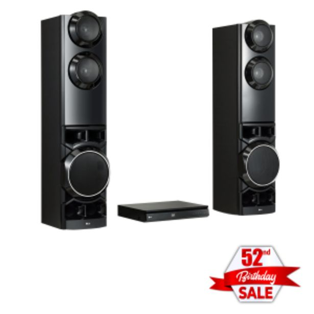 LG 4.2 Home Theatre System with HDMI DVD Player offers at R 299