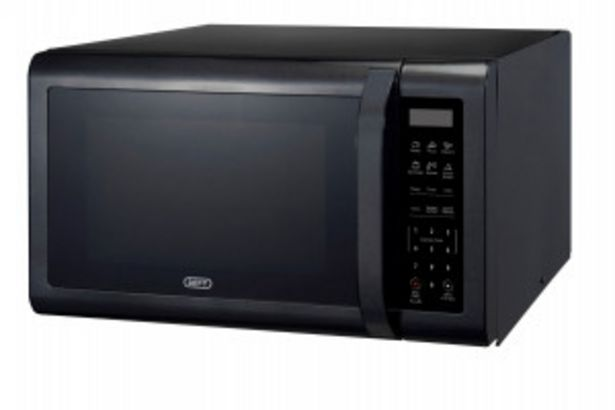 Defy 43L Solo Black Microwave offers at R 179