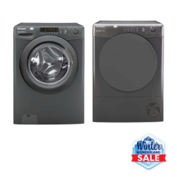 Candy Anthracite Duo: Candy 8kg Anthracite Smart F ... offers at R 599