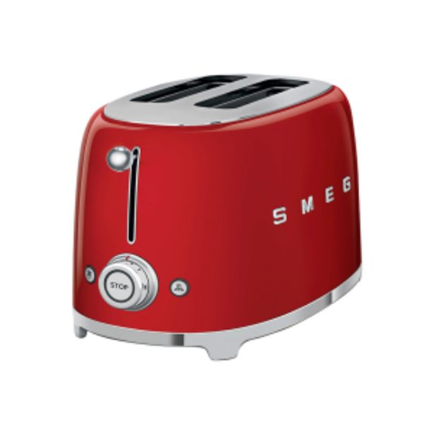Smeg Red Retro 2 Slice Toaster offers at R 169