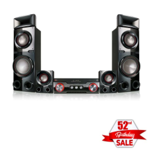 LG 4.2 Home Theatre System offers at R 609