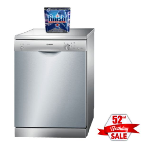 Bosch 12 Place Inox Dishwasher offers at R 279