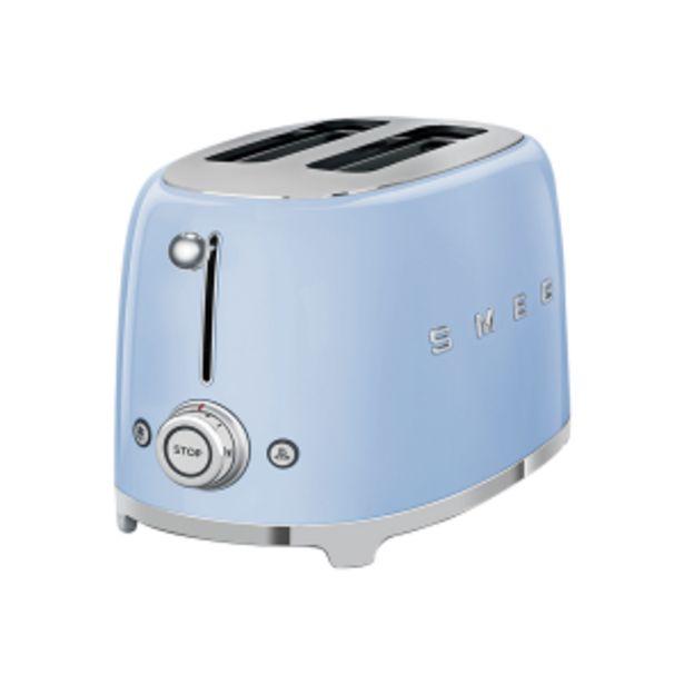 Smeg Pastel Blue Retro 2 Slice Toaster offer at R 169
