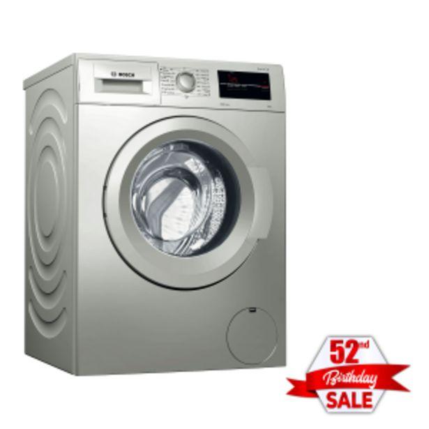 Bosch 8kg Silver Inox Front Loader Washing Machine offer at R 369