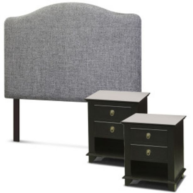 Linea Classica Cindy Headboard and Euro Pedestals  ... offer at R 309