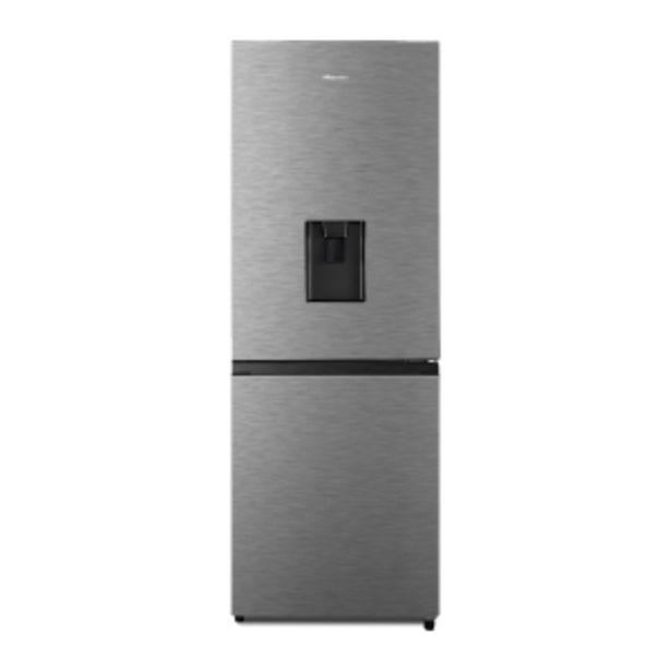 Hisense 222L Inox Combi Fridge/Freezer with Water  ... offers at R 249