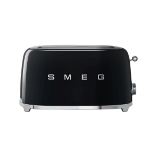 Smeg Black Retro 4 Slice Toaster offers at R 199
