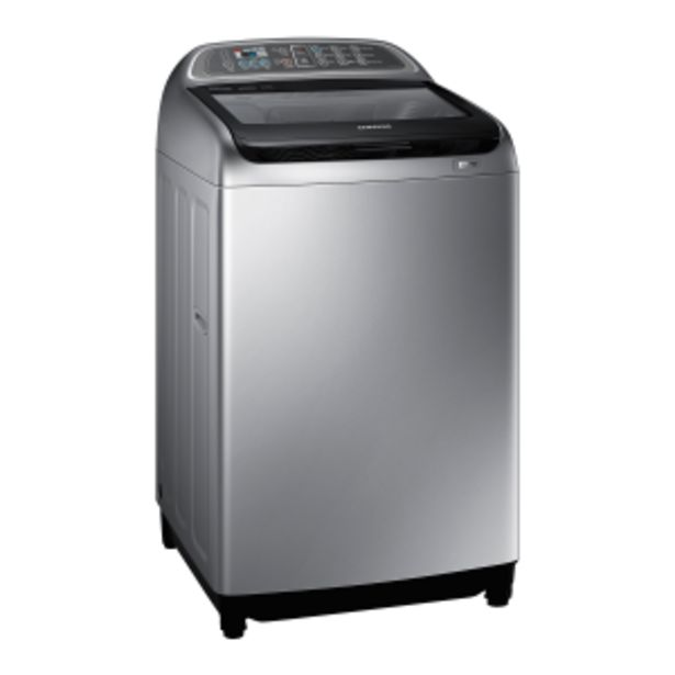 Samsung 15kg Silver Top Loader Washing Machine offer at R 319