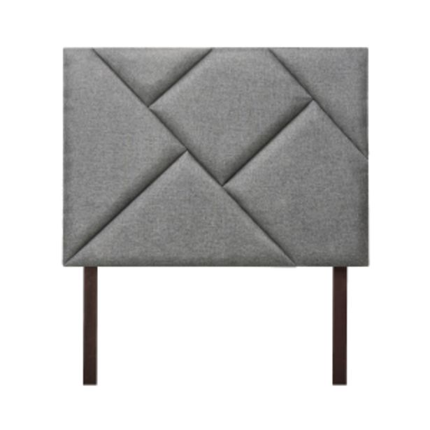 Retro Sky Grey Upholstered Headboard offer at R 139
